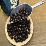 Kaffeebohnen in Zartbitter-Schokolade